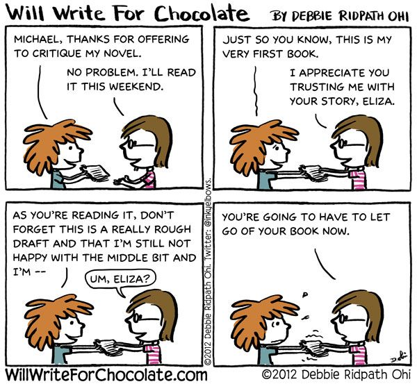 Writing an Chocolate