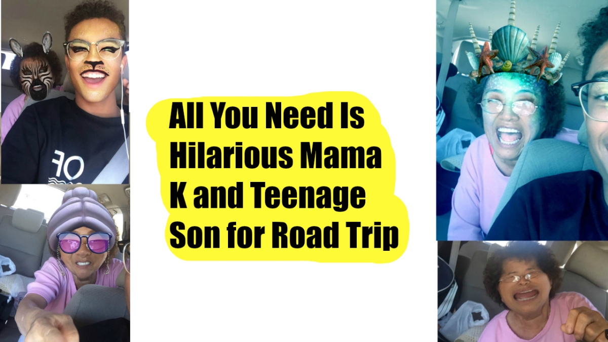 Hilarious Korean Singing Mom and Silly Teen are All You Need for a Road Trip